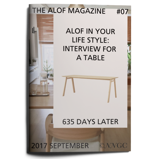 #07ALOF MAGAZINEin your life style